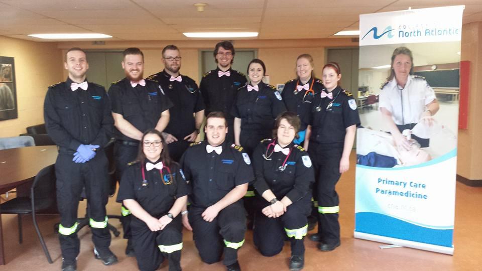 CNA Paramedicine students