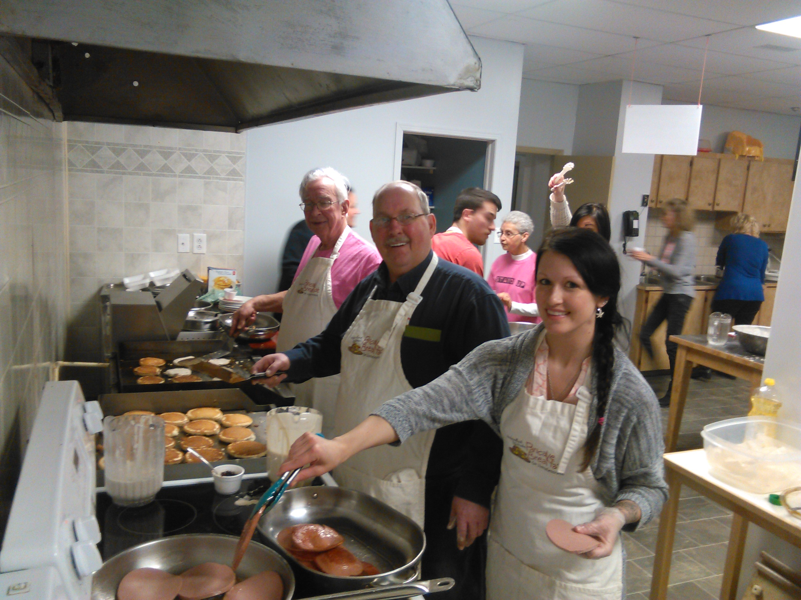 CBC Community Pancake Breakfast to fight homelessness 2015