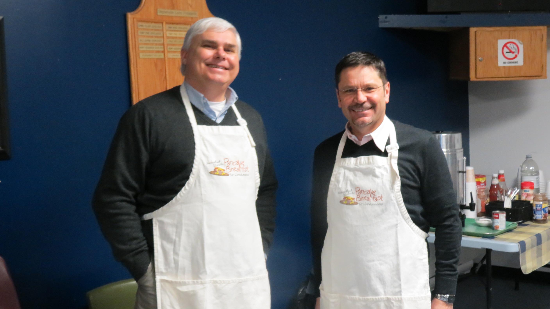 CBC Community Pancake Breakfast to fight homelessness 2015