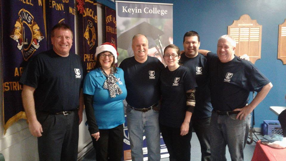 Keyin College staff